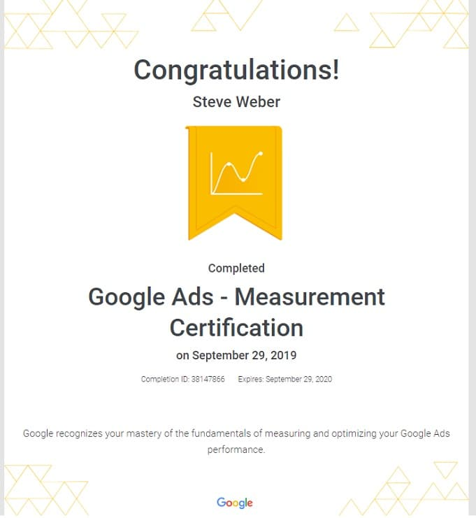 Week 90: Google Ads Measurement