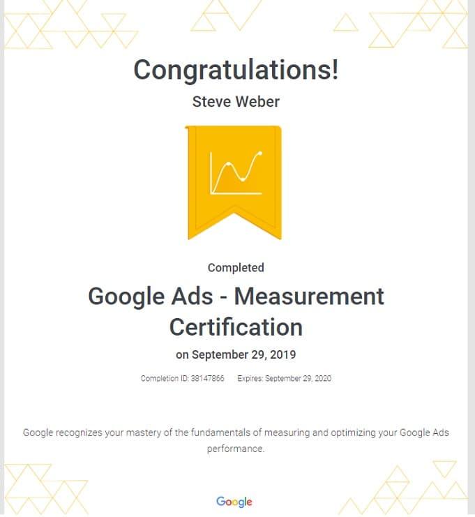 Week 90: Google Ads Measurement