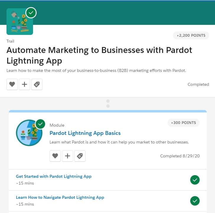 Week 138: Automate Marketing to Business with Pardot Lightning App