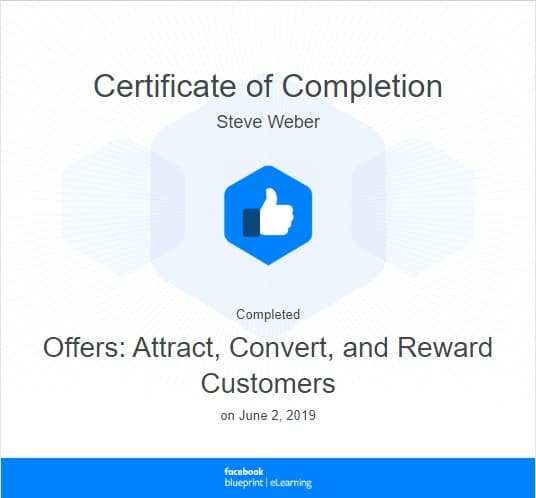 Week 78: Facebook - Offers: Attract, Convert, and Reward Customers