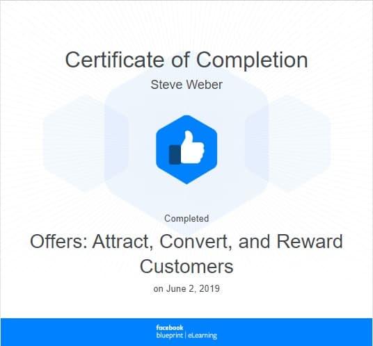Week 78: Facebook - Offers: Attract, Convert, and Reward Customers