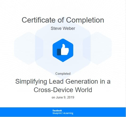 Week 80: Facebook - Simplifying Lead Generation in a Cross-Device World