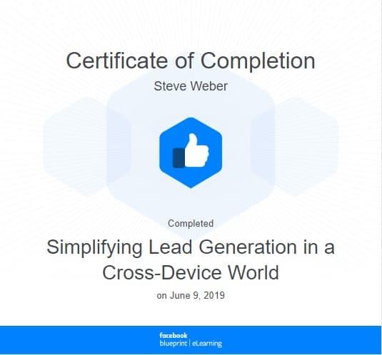 Week 80: Facebook - Simplifying Lead Generation in a Cross-Device World