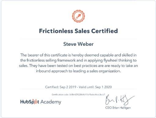 Week 91: Hubspot Frictionless Sales