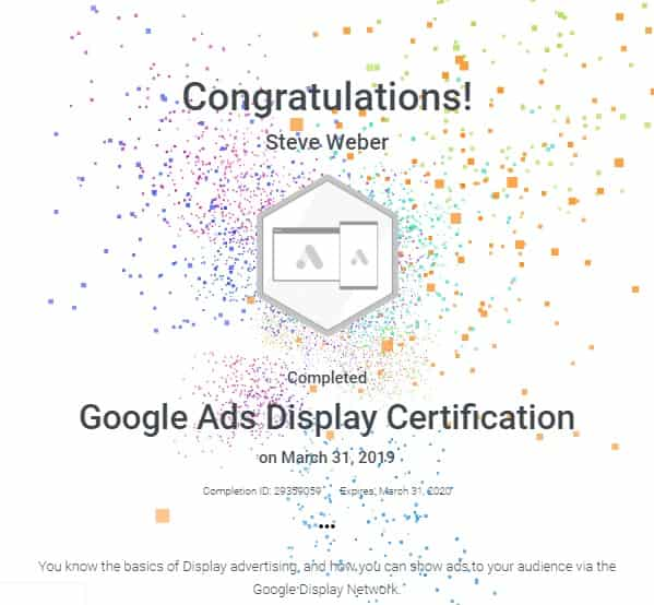 Google Ads Display 2019