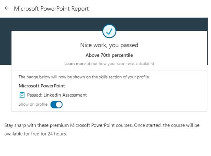 Week 94:LinkedIN Powerpoint Exam