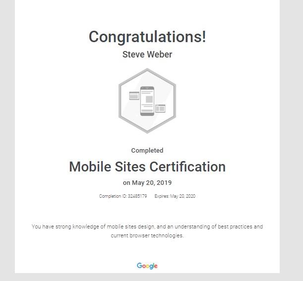 Week 77: Google Ads Mobile Sites