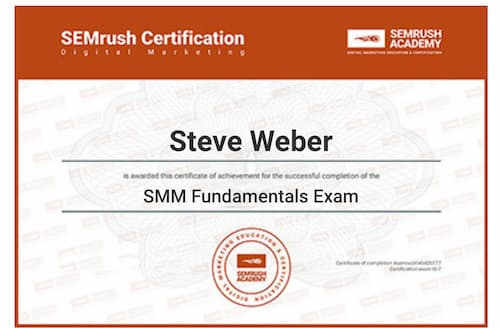 Week 125: SEMrush SMM Fundamentals