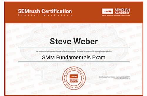 Week 125: SEMrush SMM Fundamentals