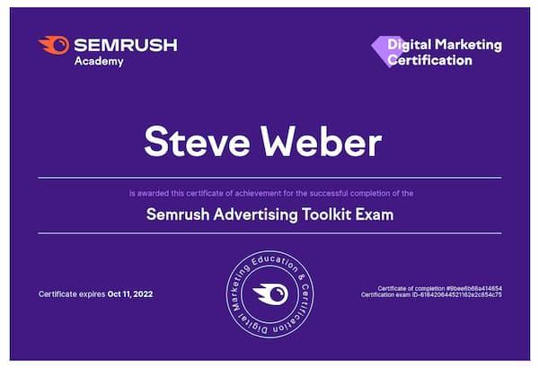 Week 196: SEMrush Advertising Toolkit
