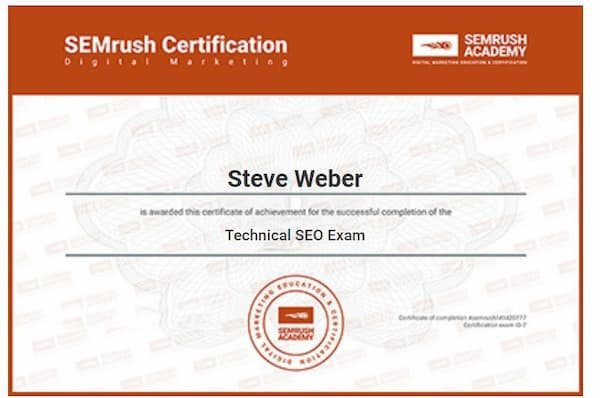 Week 151: SEMrush SEO Technical Exam