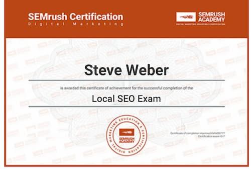 Week 133: SEMrush Local SEO Examp