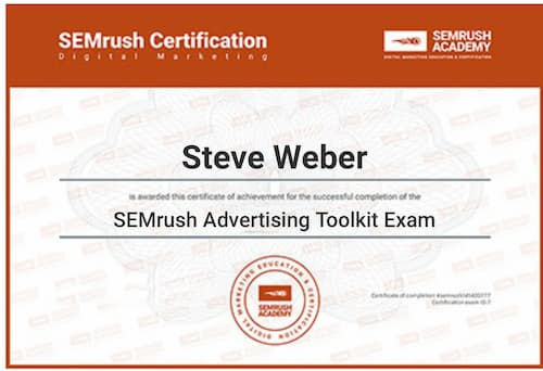 Week 128: SEMrush Advertising Toolkit