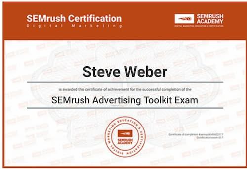 Week 128: SEMrush Advertising Toolkit