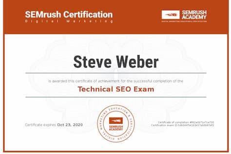 Week 97: SEMrush Technical SEO 2019