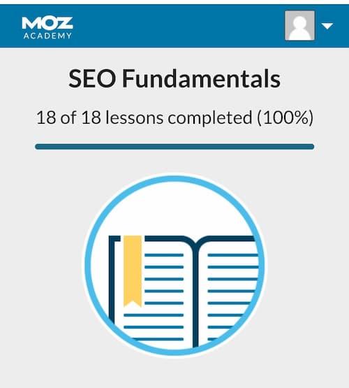 Week 115: SEO Fundamentals By Moz Acadmey