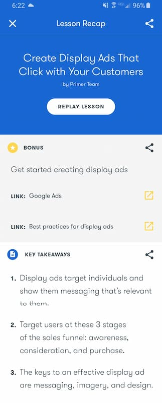 Week 179: Google Primer: Create Display Ads That Click with Your Customers