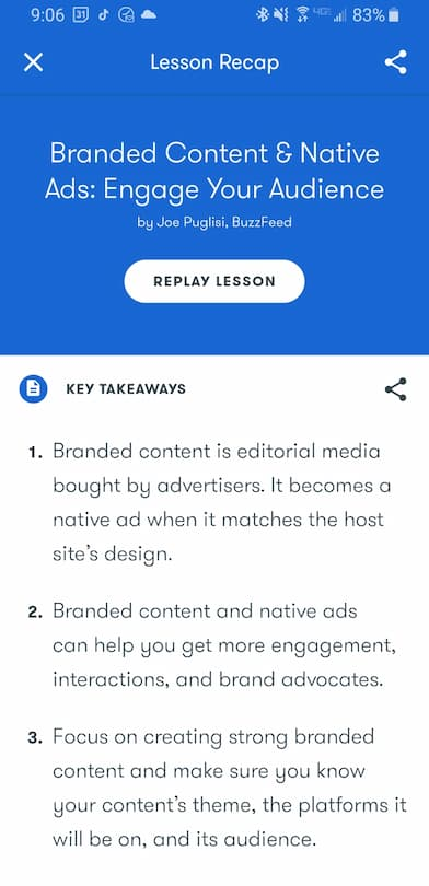 Week 193:  Google Primer Branded Content & Native Ads: Engage Your Audience