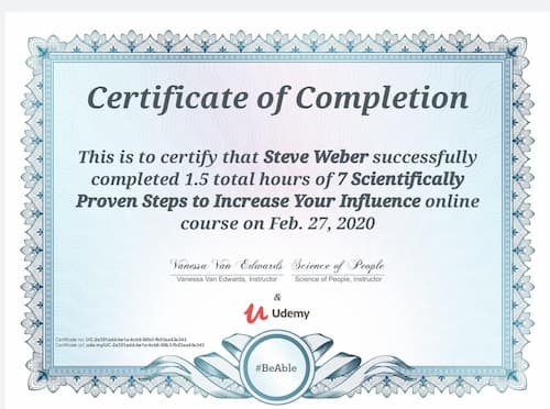 Week 113: 7 Scientifically Proven Steps to Increase Your Influence
