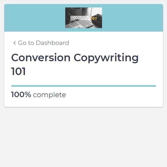 Week 129: Conversion Copywriting 101 by Copyhackers
