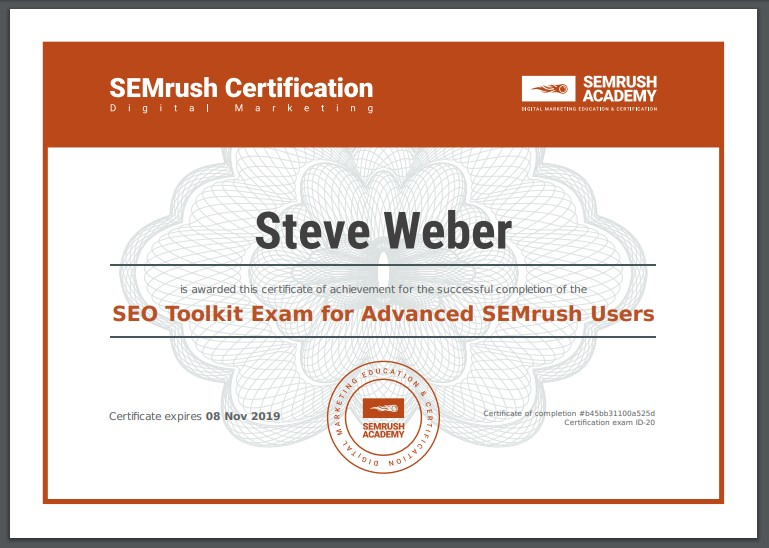 The Best Guide To Semrush Academy