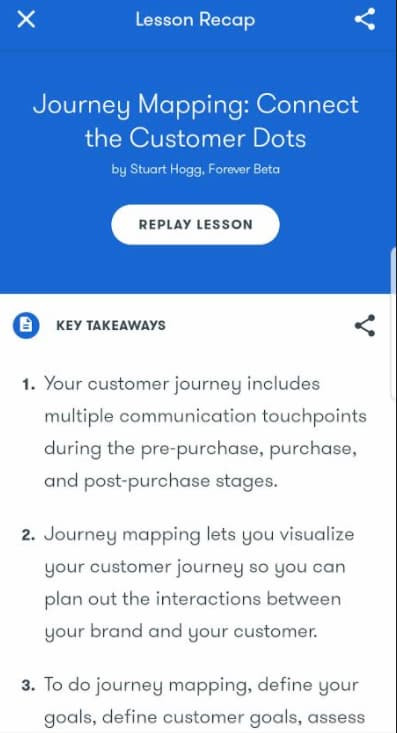 Week 165: Google Primer  -Journey Mapping: Connect the Customer Dots
