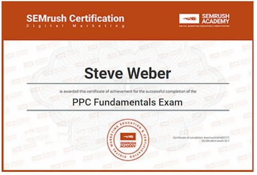 Week 114: SEMrush PPC Fundamentals