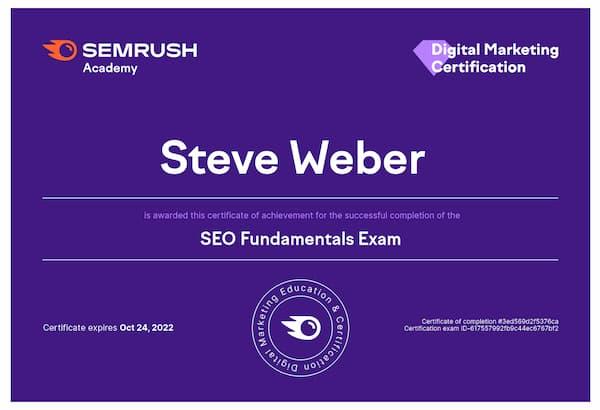 Week 198: SEMrush SEO Fundamentals