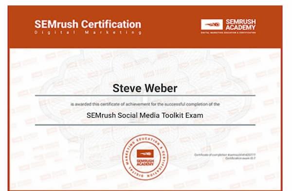 Week 156: SEMRush Social Media Toolkit