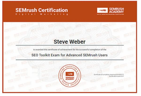 Week 152: SEMrush SEO Toolkit for Advanced User